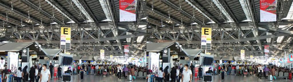 タイ・バンコク、スワンナプーム国際空港