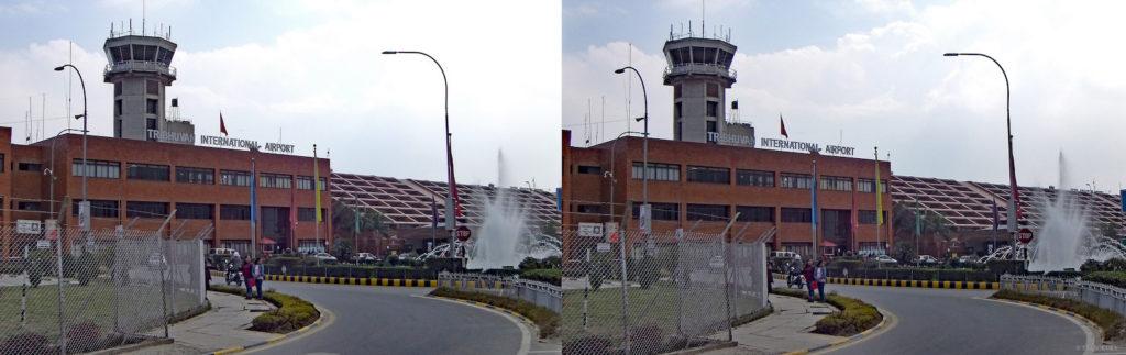 ネパール・カトマンドゥ、トリブバン国際空港