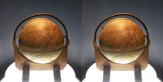 紙張子製天球儀(1690(元禄3)年)