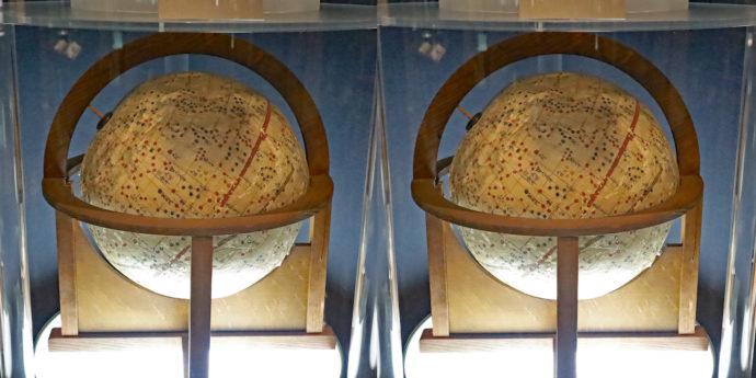 紙張子製天球儀(江戸時代後期(19世紀)ごろ