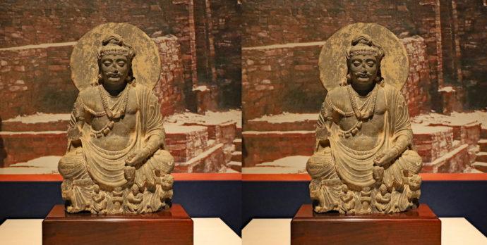 弥勒菩薩坐像